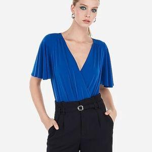 Express Suplice Bodysuit | Cobalt Blue | Size S
